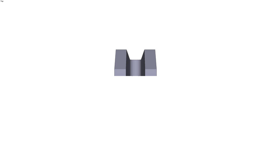 Stepped clamp - 400 x 74 x 50 mm