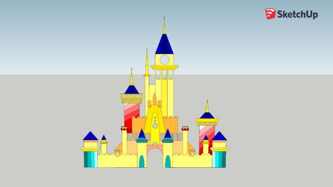 Castle_Disney