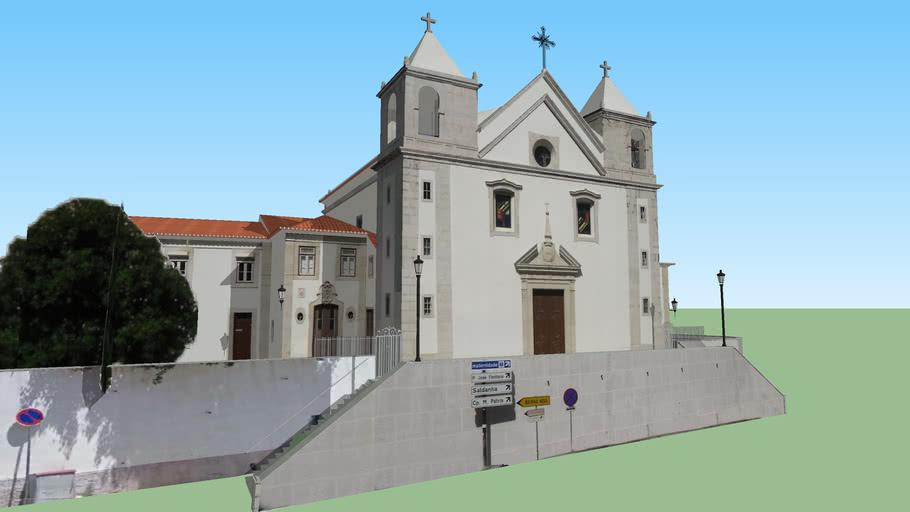 Modelo 3D da Igreja Paroquial de São Sebastião da Pedreira