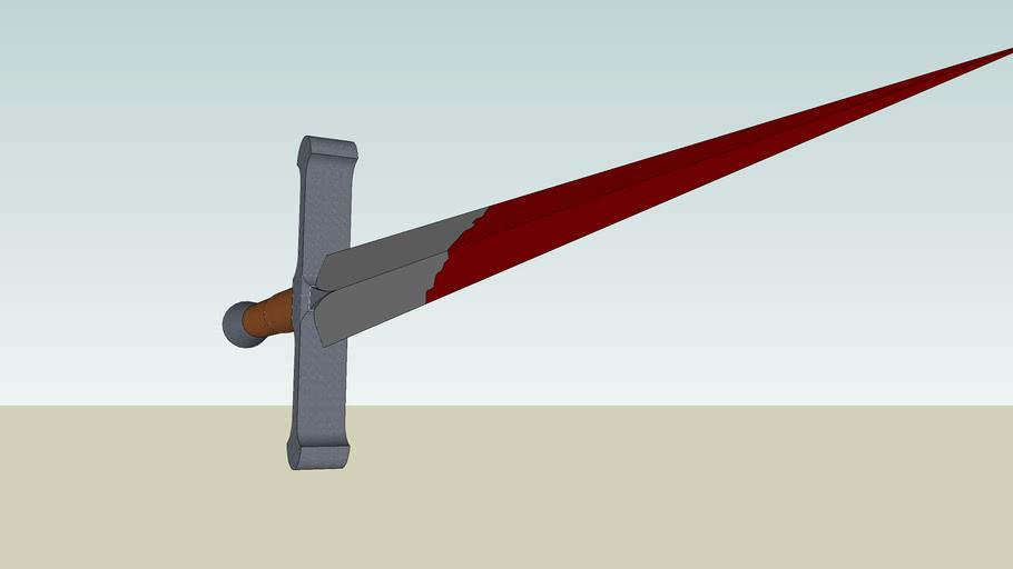 folded iron sword