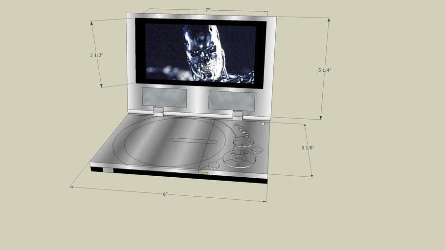DVD Player shoing terminator