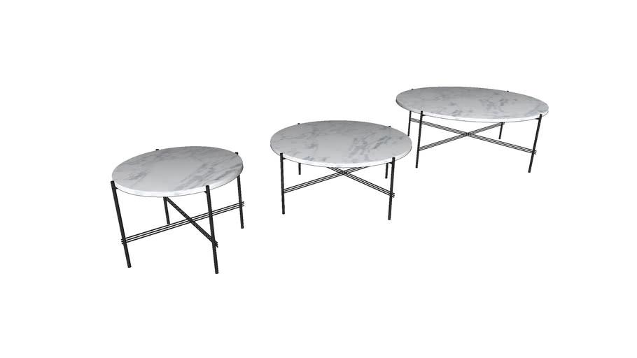 Gubi TS Round Coffee Table