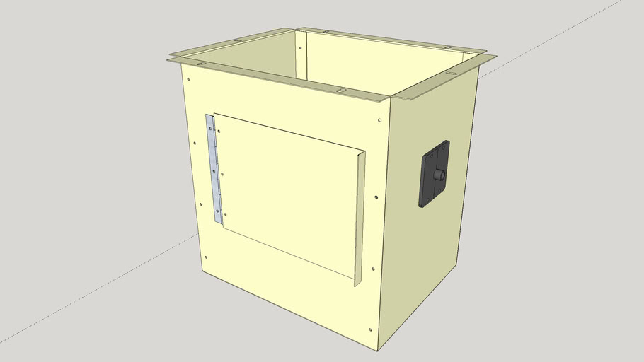 UJK Dust Collection Box