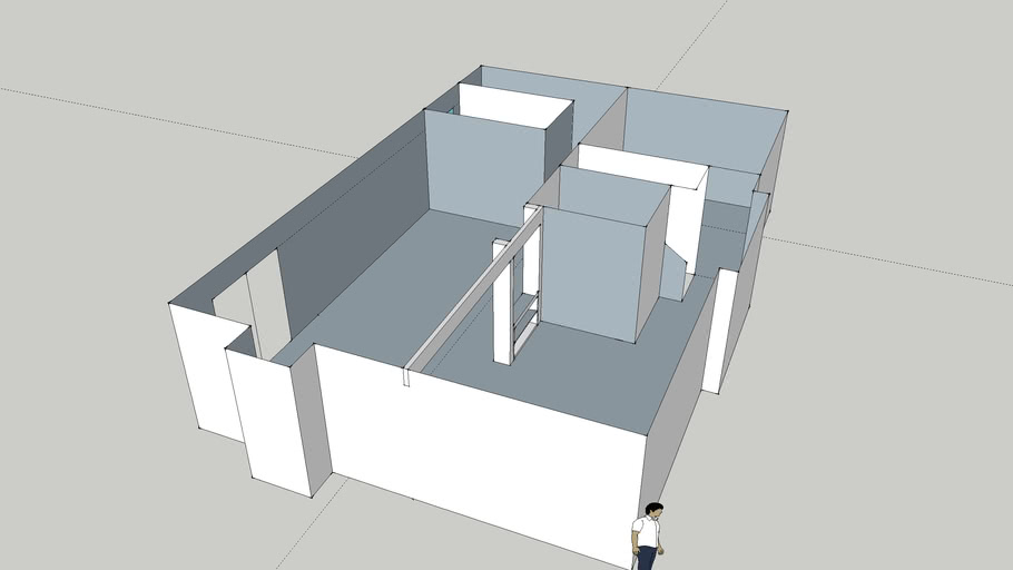 basement - floor plan bathroom back