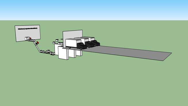 fabrica (maquina de reparticion rapida y acomodadora de liquido )