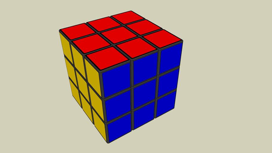 Rubik cube table