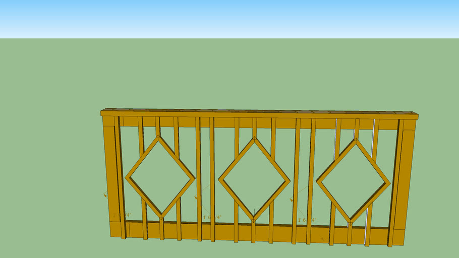 Gauthier Complete Carpentry  Deck Railing