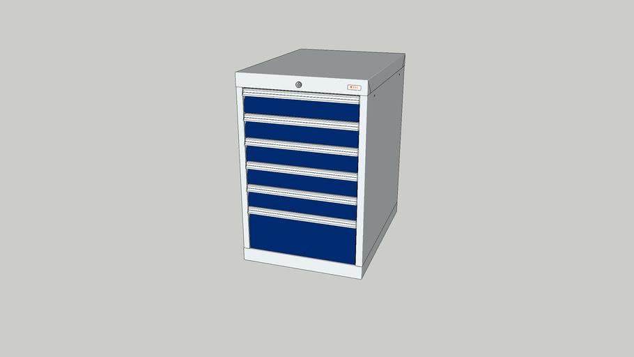 SSG Drawer cabinet 500/05 (6 drawers)   Item No. 200405-06