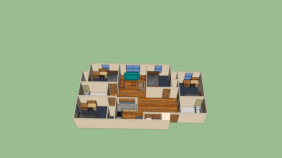 UNCW Seahawk Village 4 bedroom