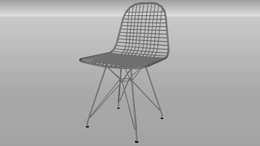 Herman Miller® Eames® Wire Chair from Smart Furniture