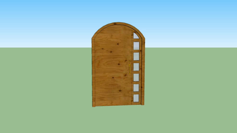 Puerta de Madera FIX