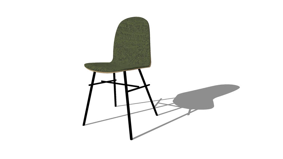 Nam Nam Classic Chair, Upholstered, designed by HolmbäckNordentoft, produced by Icons of Denmark
