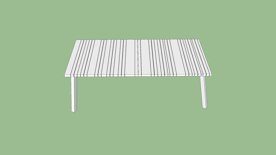 Yuyup Dining Table Gray