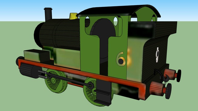 Percy the Little Green Tank Engine