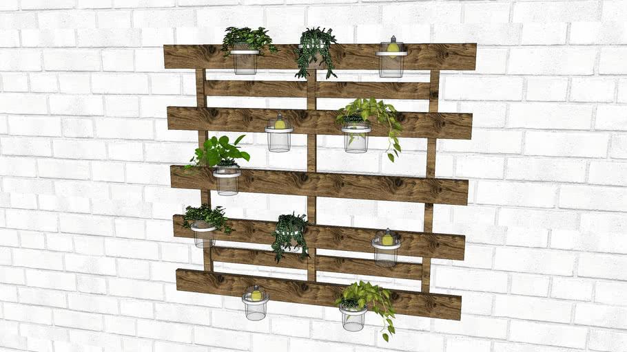 Trendy Wall Plant Decor Decorative