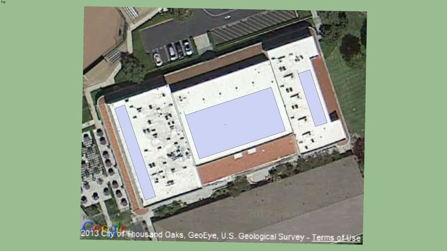 LA Reina HS - Gym roof space