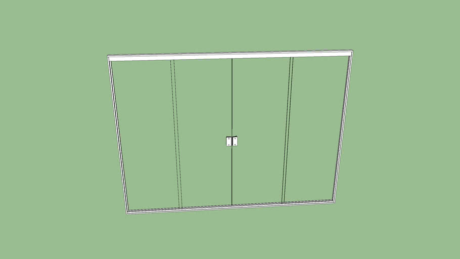 janela sala em brindex  2x1,50