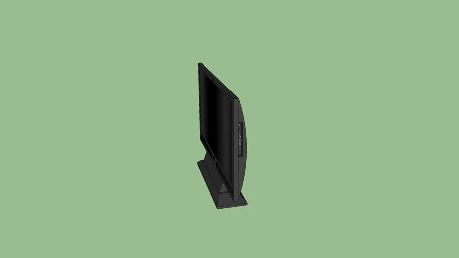Black Flatscreen