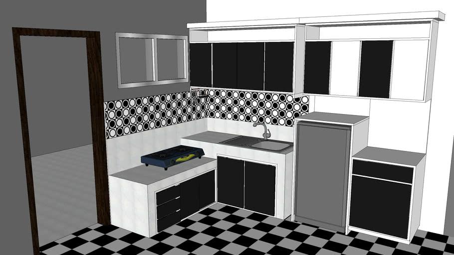 Kitchen set sederhana