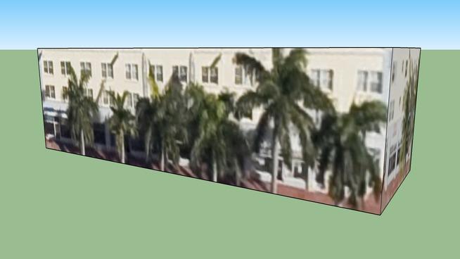 Budova na adrese Miami Beach, FL, USA