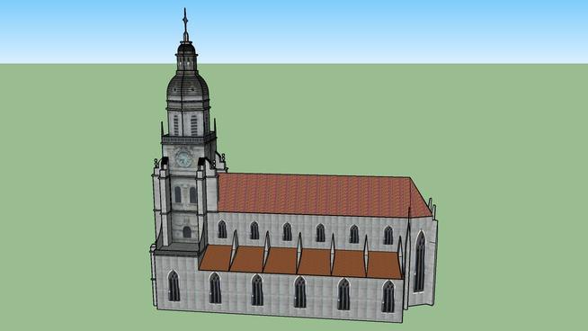 Cathédrale Notre dame de Bourg en bresse
