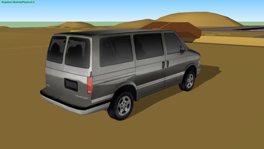 Chevrolet Astro (SketchyPhysics)