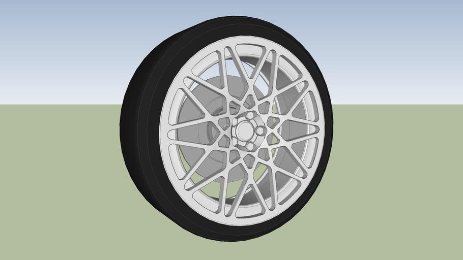 Rotiform monoblock BLQ wheel