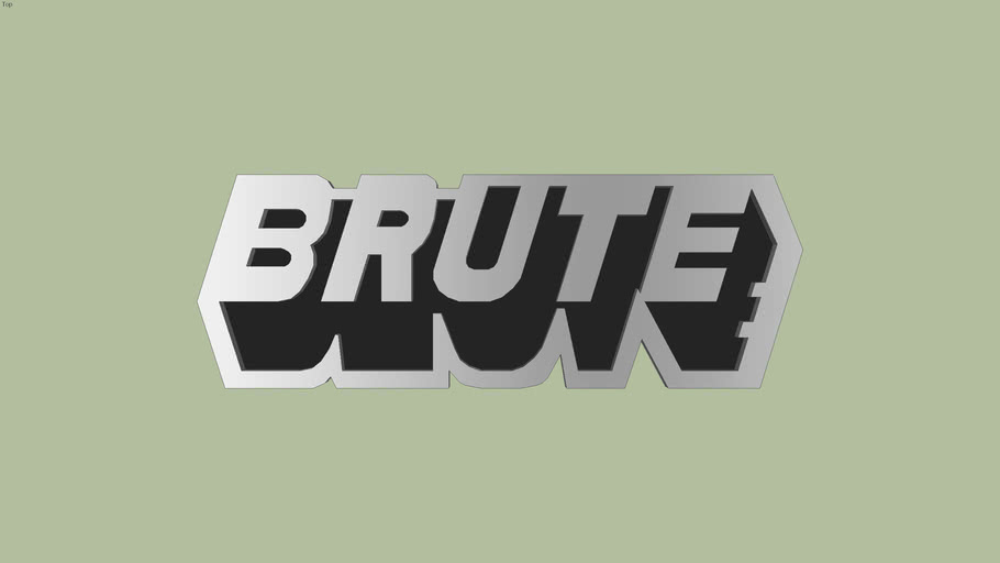 Brute Logo (GTA) | 3D Warehouse