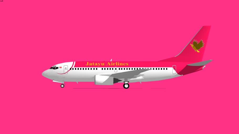 Jatayu Airlines Boeing 737-300 1