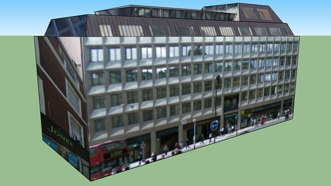Building in City of London, UK