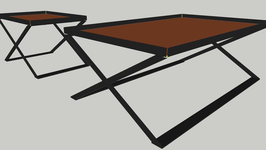 Zanotta ixs coffee table by carlo colombo