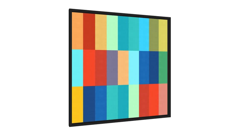 Quadro Abstrato e vibrante II - Galeria9, por Arte Decor