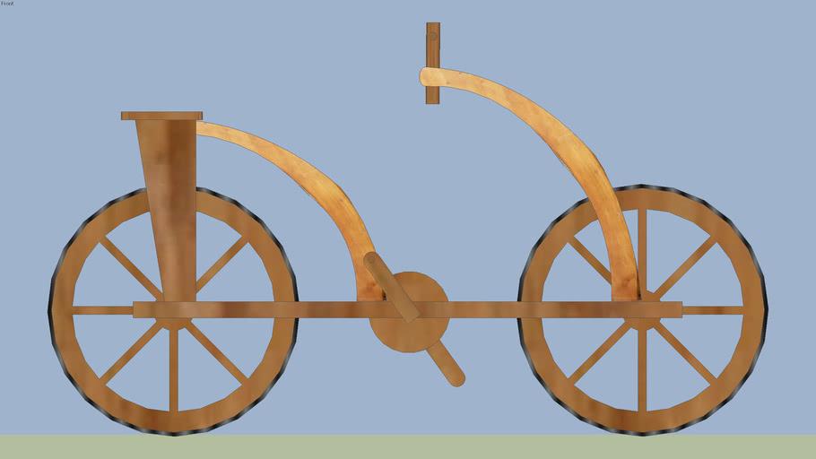 Bozzetto Bici di ''Leonardo''