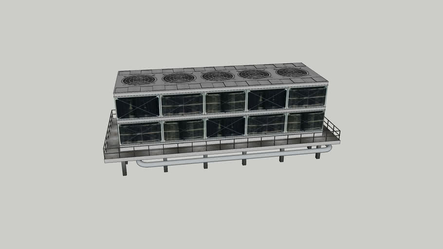 5-Cell Cooling Tower