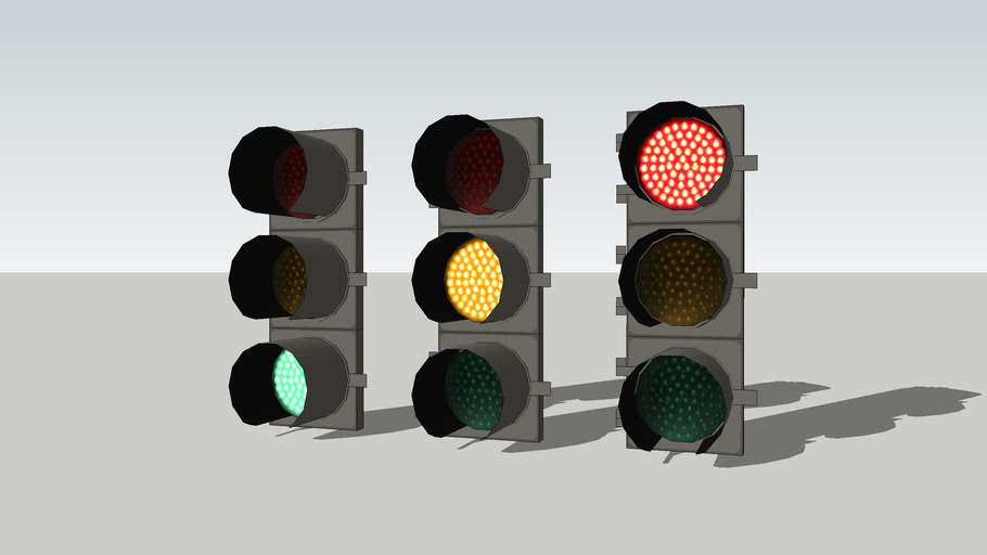 8 inch LFE LED traffic signals