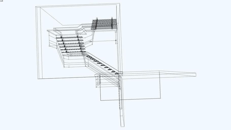 Escada de 3 lances