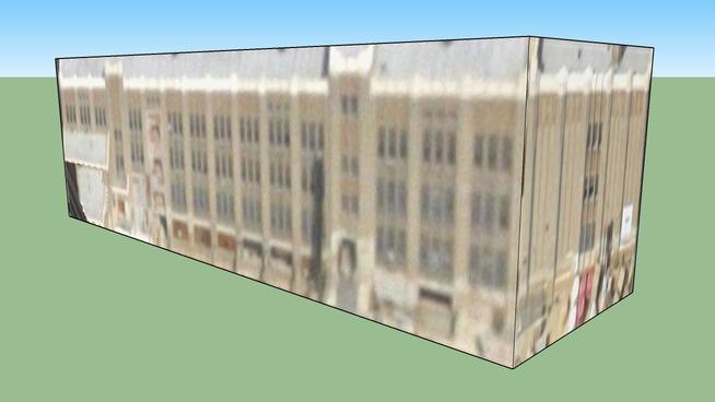 Edificio in Filadelfia, Pennsylvania, Stati Uniti