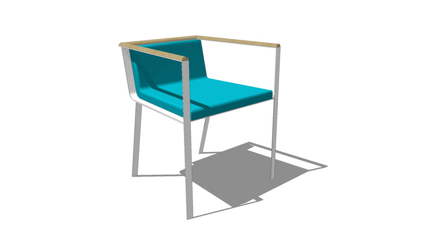 Chaise SAA INDOOR - BLEU NATURE spring collection 2010