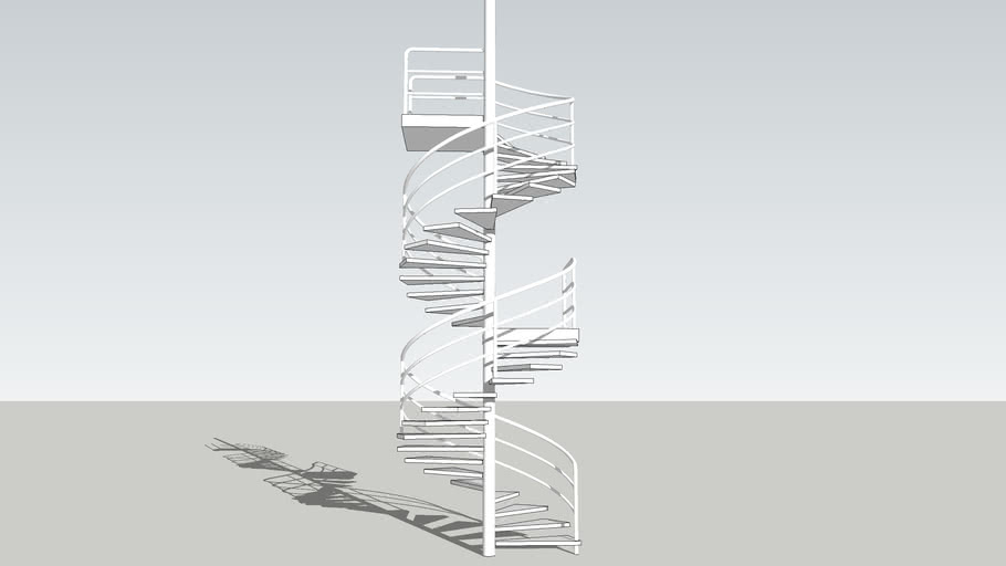spiral stairs - double flight (1)
