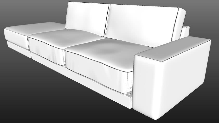 IWC|HOME - MONO sofa+puf hi-poly