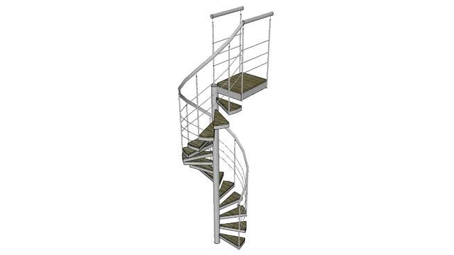Escada condomínio