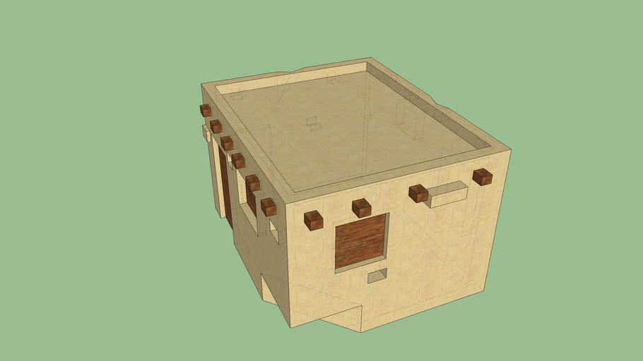 old arabic house