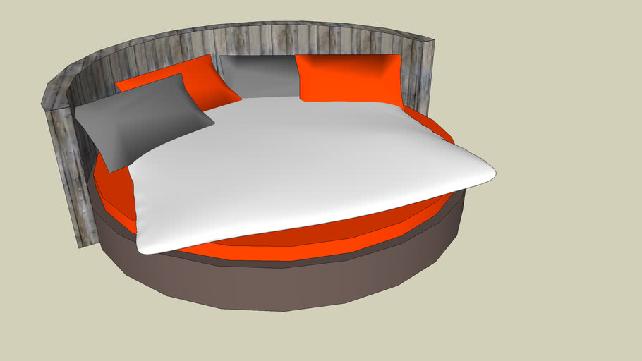 ROUND BED / ROND BED