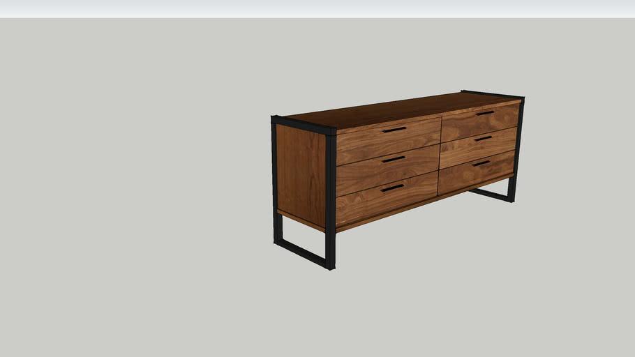 Industrial dresser