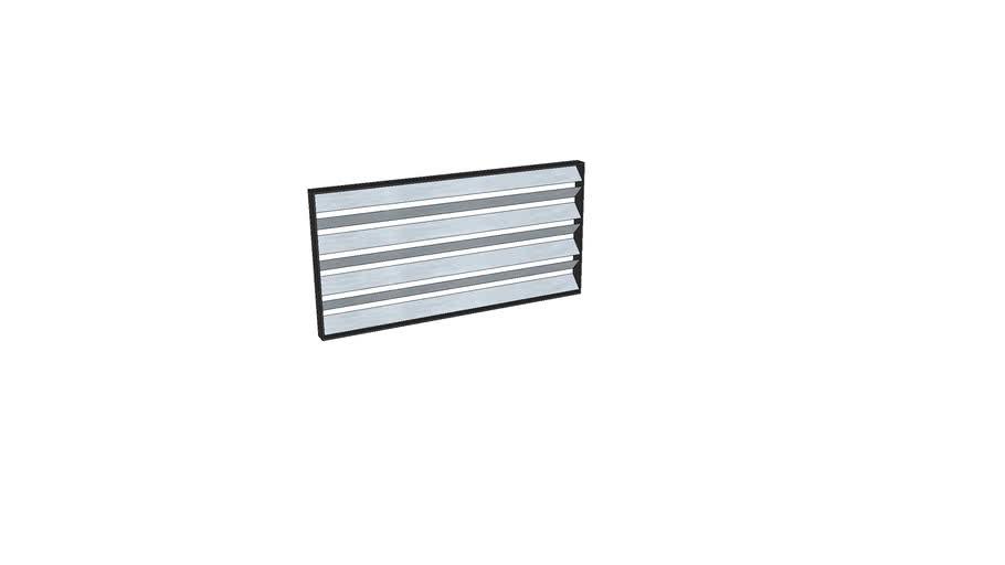 HVAC air damper