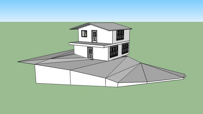 Modelo de casa 7,05 x 8,00