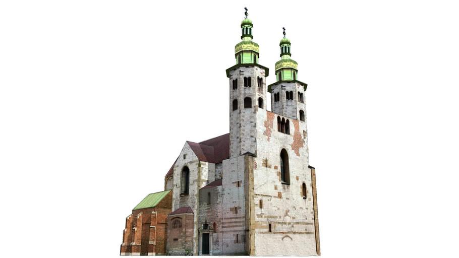 Kosciol Swietego Andrzeja w Krakowie - St. Andrew Church in Cracow