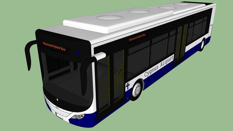 Cygnus airport Shuttle bus
