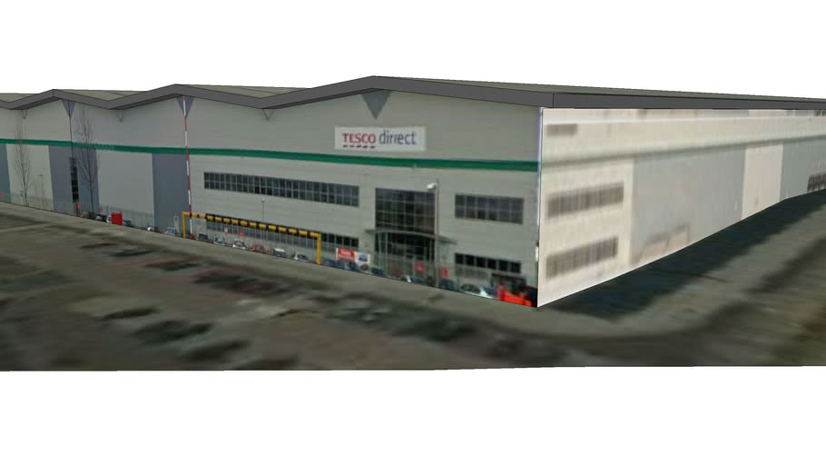 Tesco Direct warehouse, Weston Rd, Crewe (v1.0)