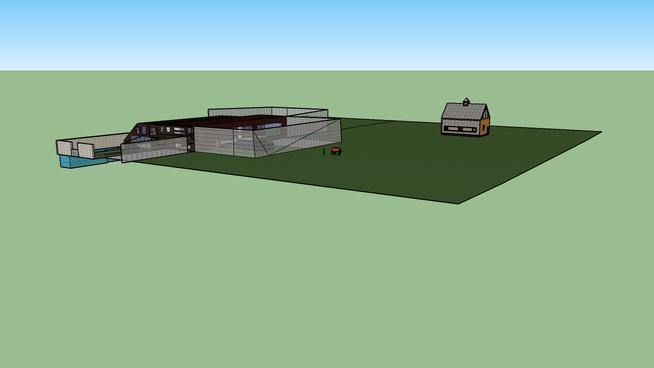 Modern rual house